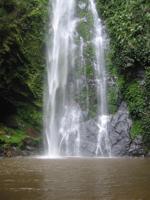 Ghana Reisen - Wasserfall