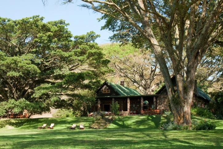 Lodge-Safari - Afrika