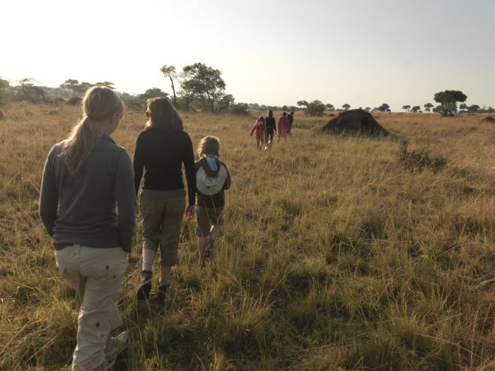 Familiensafari Afrika - Fußpirsch
