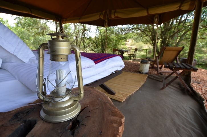 Afrika Safari Reisen - Tented Camp