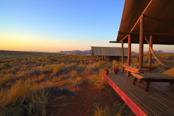 Namibia Namib entspannt