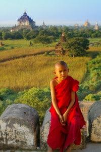 Geführte Rundreisen Myanmar - junger Mönch