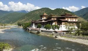 Geführte Reise Bhutan - Punakha Dzong