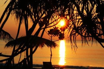 Asien Strandurlaub - Sonnenuntergang