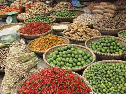 Vietnam Gruppenreisen - Marktbesuch
