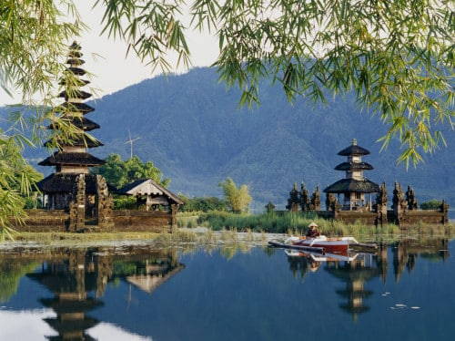 Einen Tag Rundreise in Asien