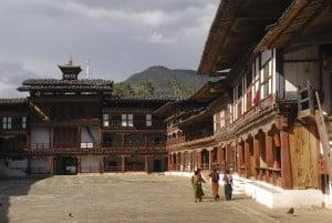 Reisen in Bhutan - Dzong