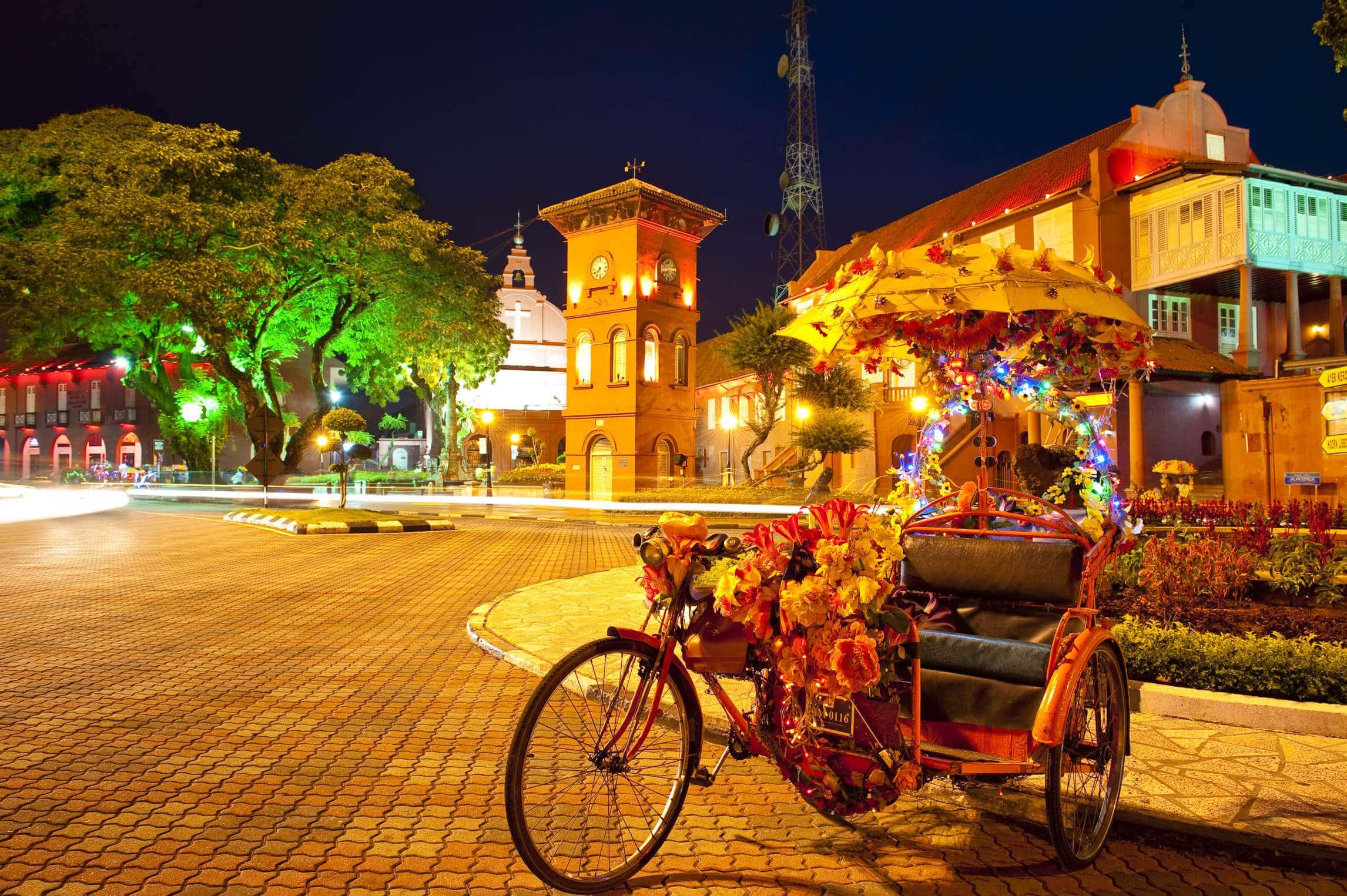 Malaysia – Malakka Fluss Festival hat begonnen