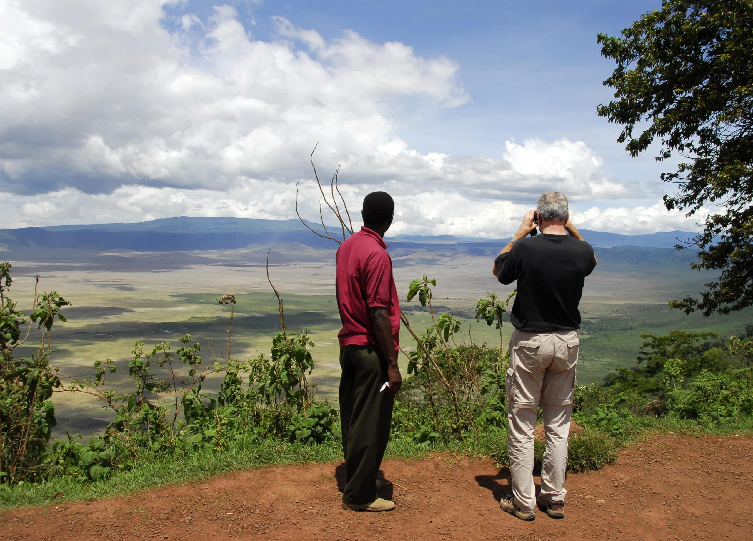 Ngorongoro Krater - Tansania-Safari-Reisebericht
