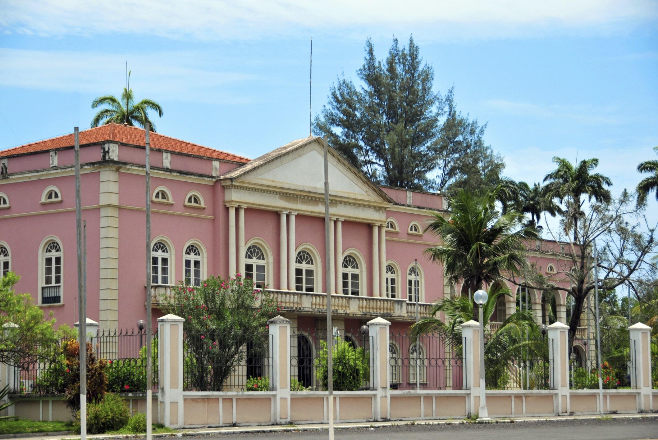 Kolonialhaus - Sao Tome Reise