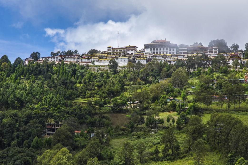 Kloster - Arunachal Pradesh - Reisebericht Indien