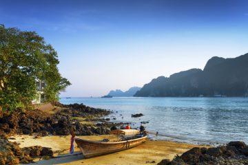 Strand in Süd-Thailand