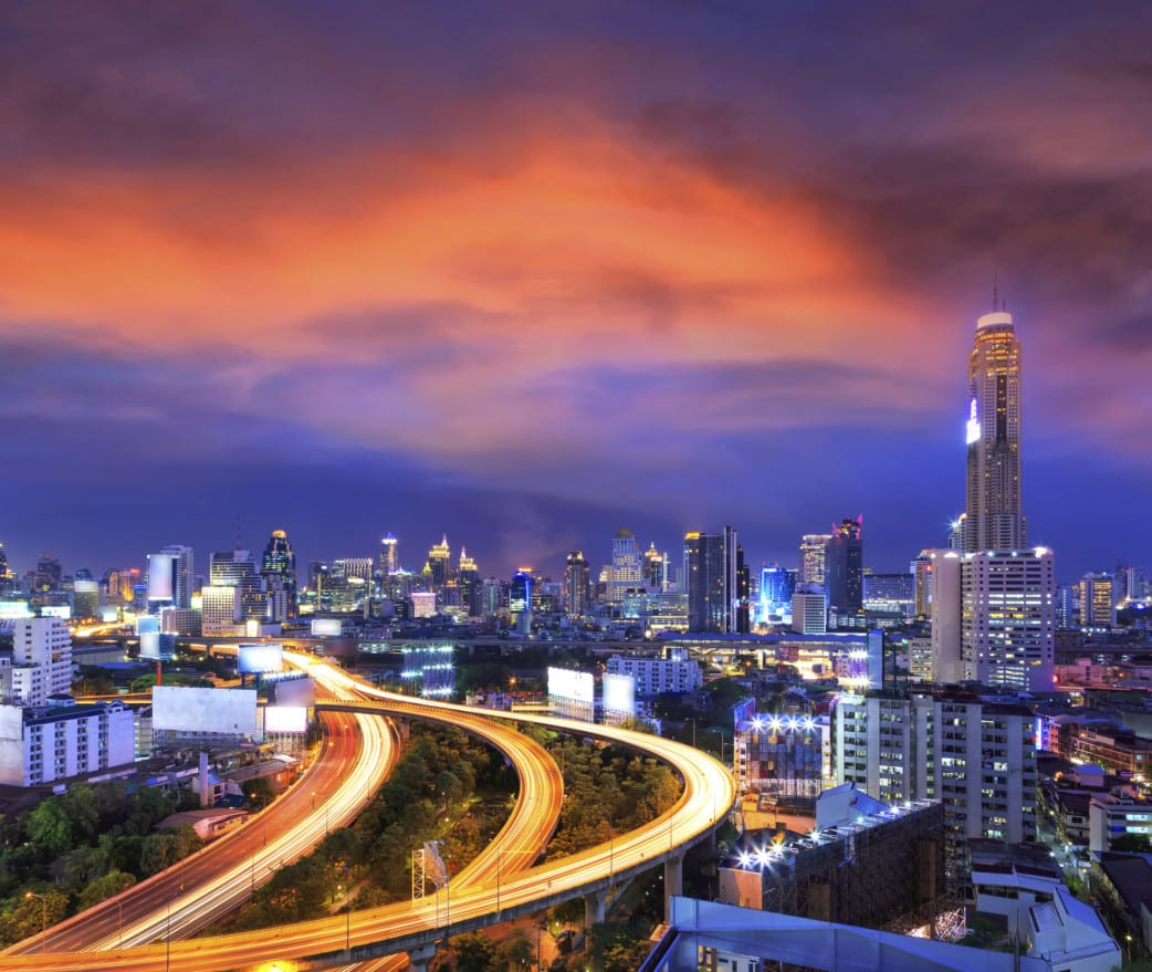 Ankunft in Bankok - Thailand Rundreise