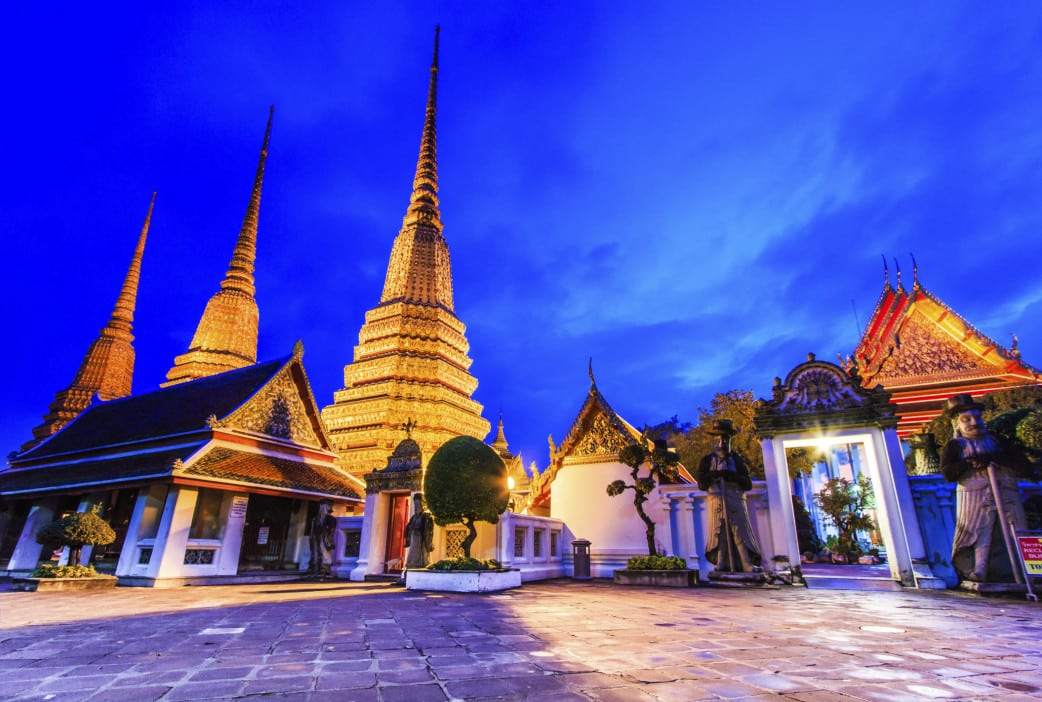 Thailand Reisen - Besuch Wat Pho Tempel