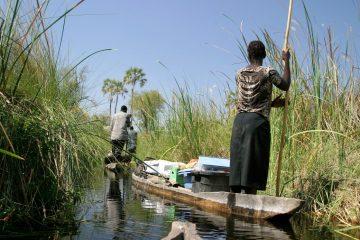 Wasser Safari in Botswana