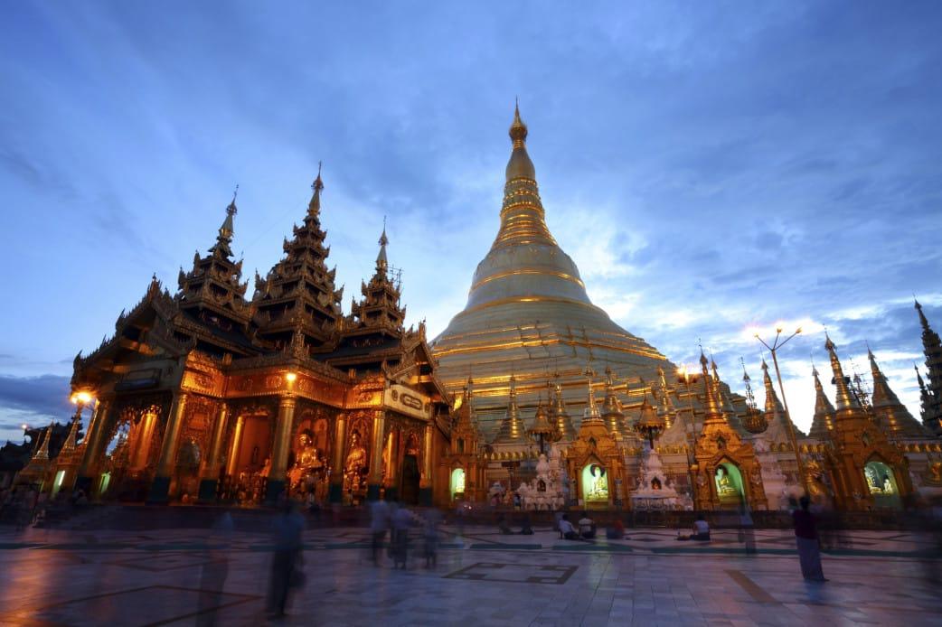 Reise zu den Heiligtümern in Myanmar