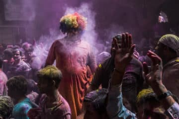 Holi Fest in Indien