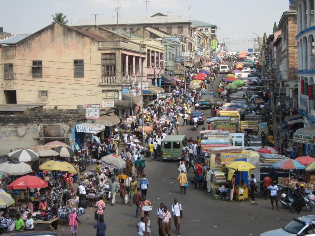 größter Markt Westafrikas - Ghana