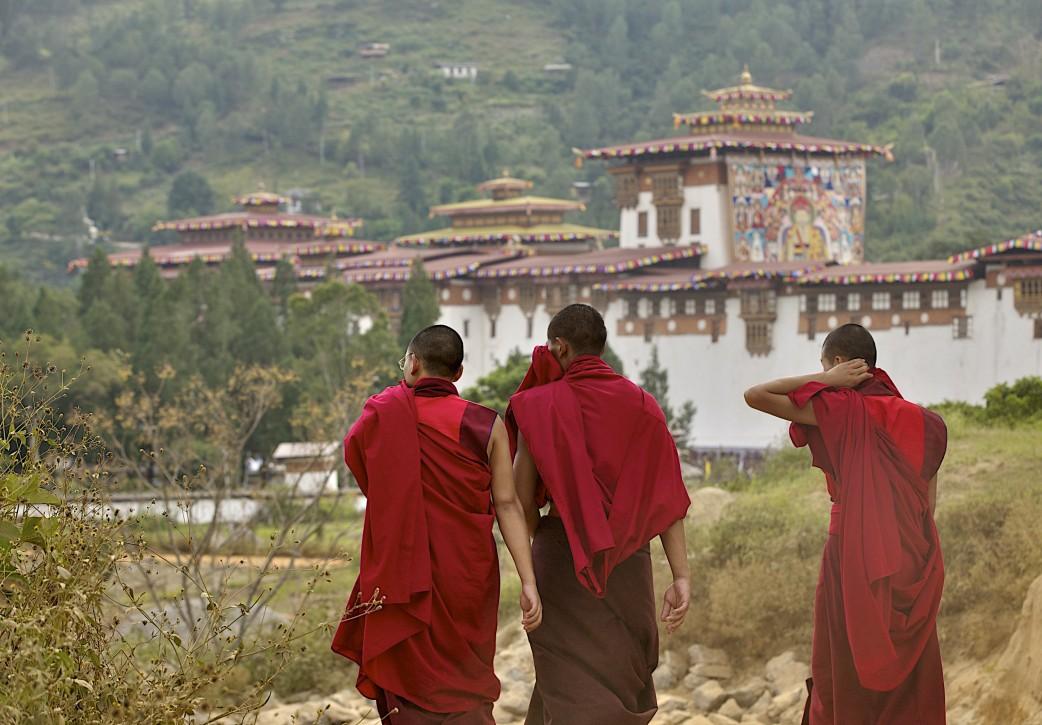 Feierlichkeiten in Bhutan