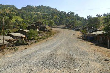 Straße in Kenia