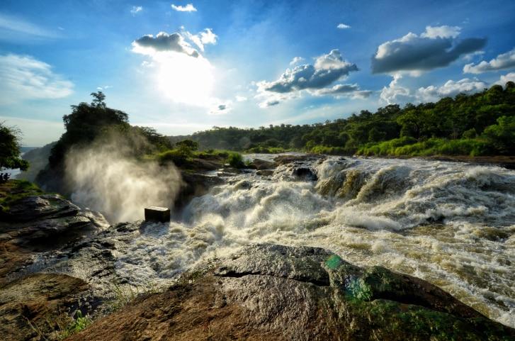 Wasserfall - Tourismus - Uganda