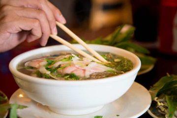 Vietnam Reise - Pho Bo Nudelsuppe