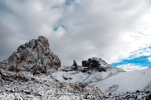 Mount Kenya Besteigung