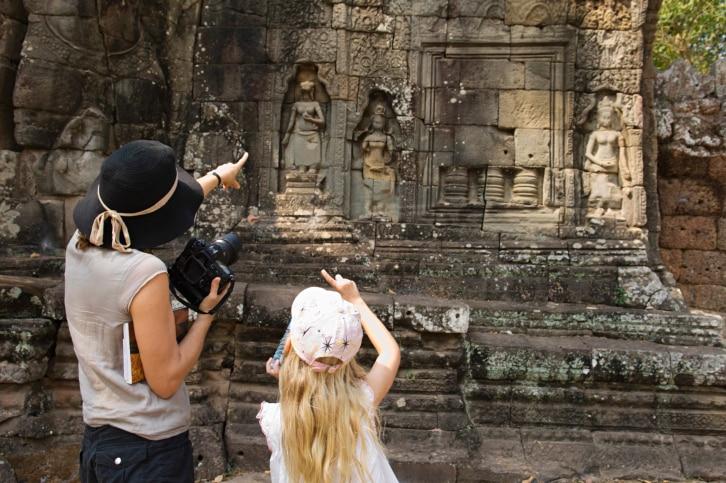 Kambodscha-Reisen mit Kindern