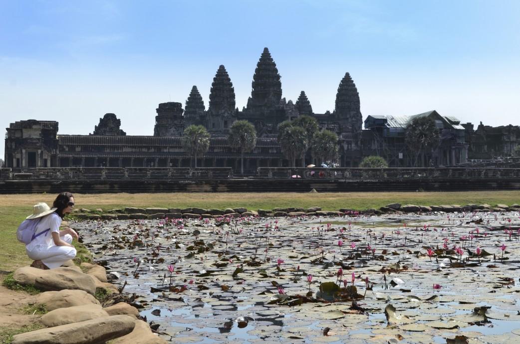 Maedchen Kambodcha- Ankor Wat