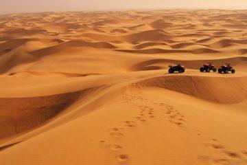 Quadtour in Namibia
