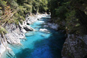 Blue Pools - Suedinsel - Neuseeland im Dezember