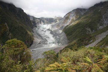 Franz Josef Glacier - Westcoast - Neuseeland eise im Januar