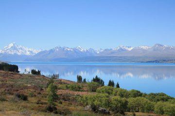 Lake Pukaki - Canterbury - Neuseeland im August