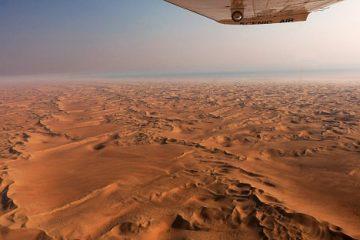 Flugsafari in Namibia