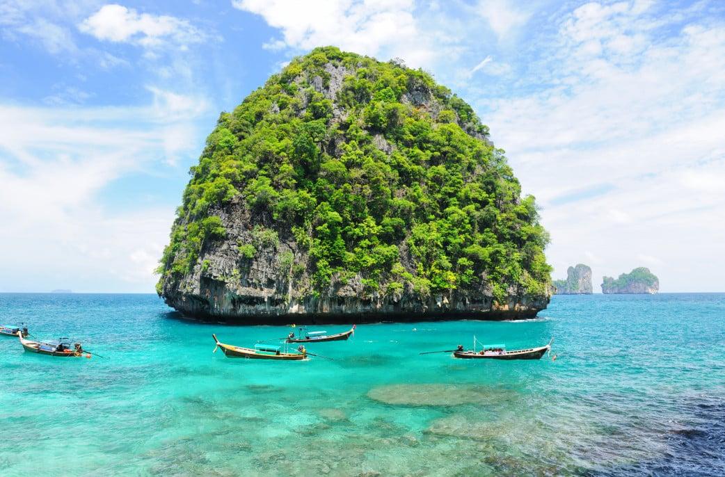 Asien Ulraub im August, Thailand Inselmn, Fischen