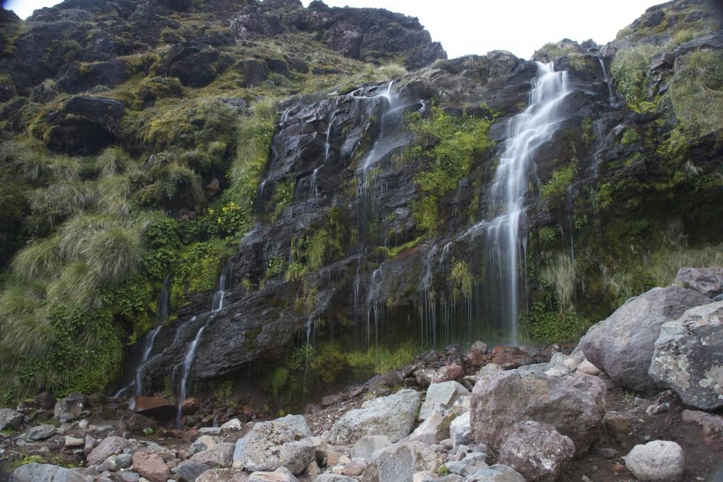 Tongariro Wasserfall Neuseeland