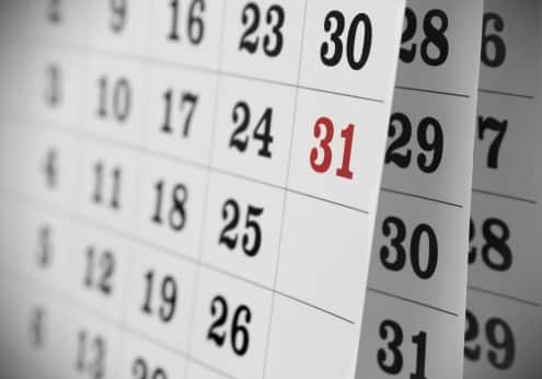2018 Kalender