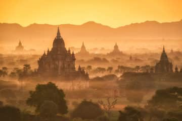 myanmar rundreise juli und August