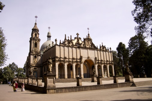 Kathedrale Addis Adeba
