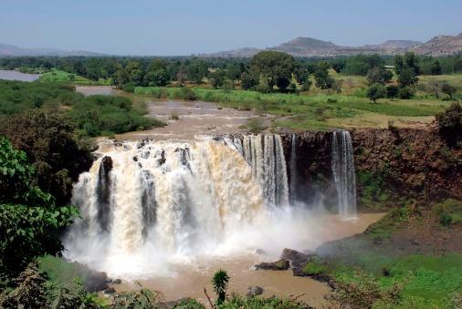 Wasserfall Blauer Nil