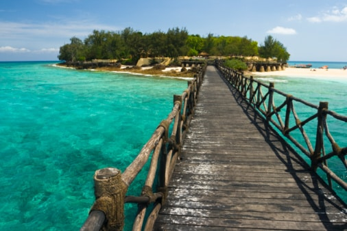 Insel Sansibar mit Steeg