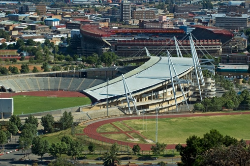 In Johannesburg das WM-Stadion