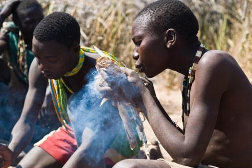 Einwohner in Mto-wa-Mbu