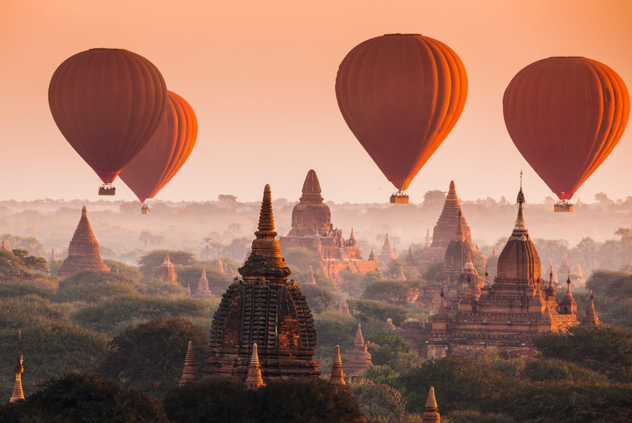 Myanmar Rundreisen