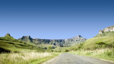 Suedafrika Gruppenreise - Amphiteather - Royal Natal National Park - Suedafrika
