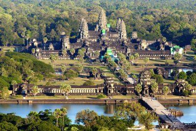 Kambodscha Laos Vietnam Rundreise -Aktivreise Vietnam Kambodscha -Angkor Wat Tempel - Siem Reap