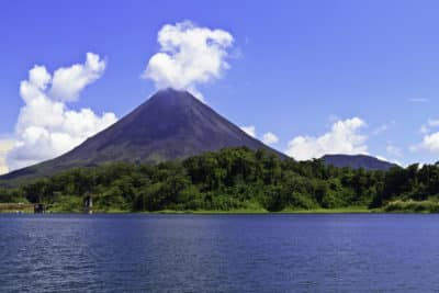 Arenal Vulkan und See - Costa Rica