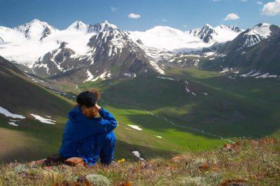 Kirgistan Individualreise -Aussicht -Bergwelt - Kirgistan