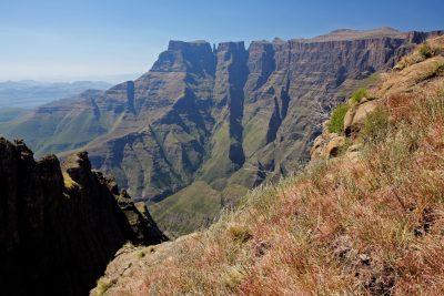 Aussicht - Drakensberge - Suedafrika