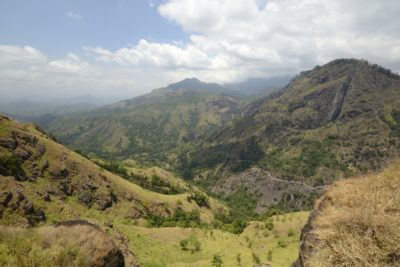 Aussicht auf Ella Gap - Sri Lanka